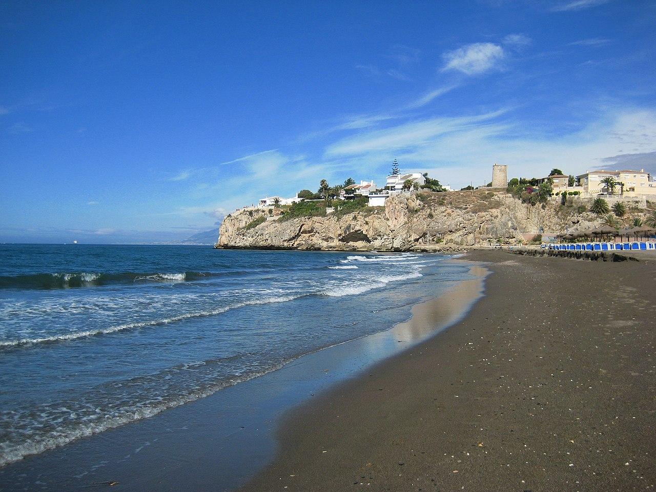 Archivo Playa Del Rincón De La Victoria Jpg Wikipedia La Enciclopedia Libre