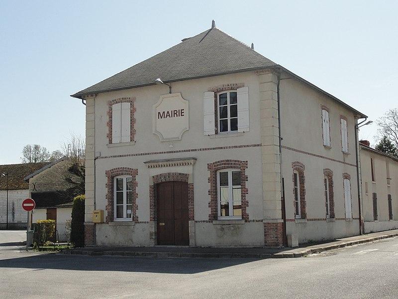 La mairie de Pocancy (France).