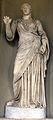 Poggio imperiale, facciata, loggia, torso di musa tipo melpomene mileto, con testa ideale forse di apollo, età tardo antonina 2.jpg