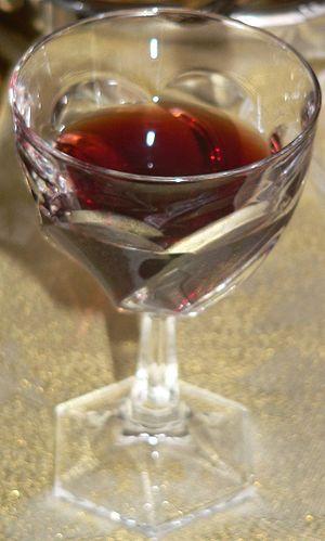 Pommard - A glass of Pommard wine