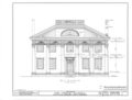 Pope-Spragins House, 407 Echols Avenue, Huntsville, Madison County, AL HABS ALA,45-HUVI,4- (sheet 2 of 3).png