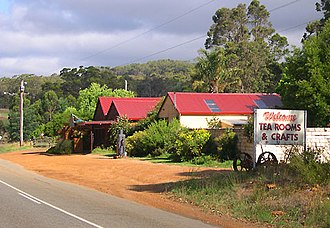 Porongurup, Western Australia -  Tea Rooms, Porongurup