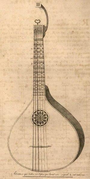 Portuguese guitar - Portuguese guitar