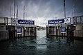 Port Solent Lock Gates Opening (8191658172).jpg