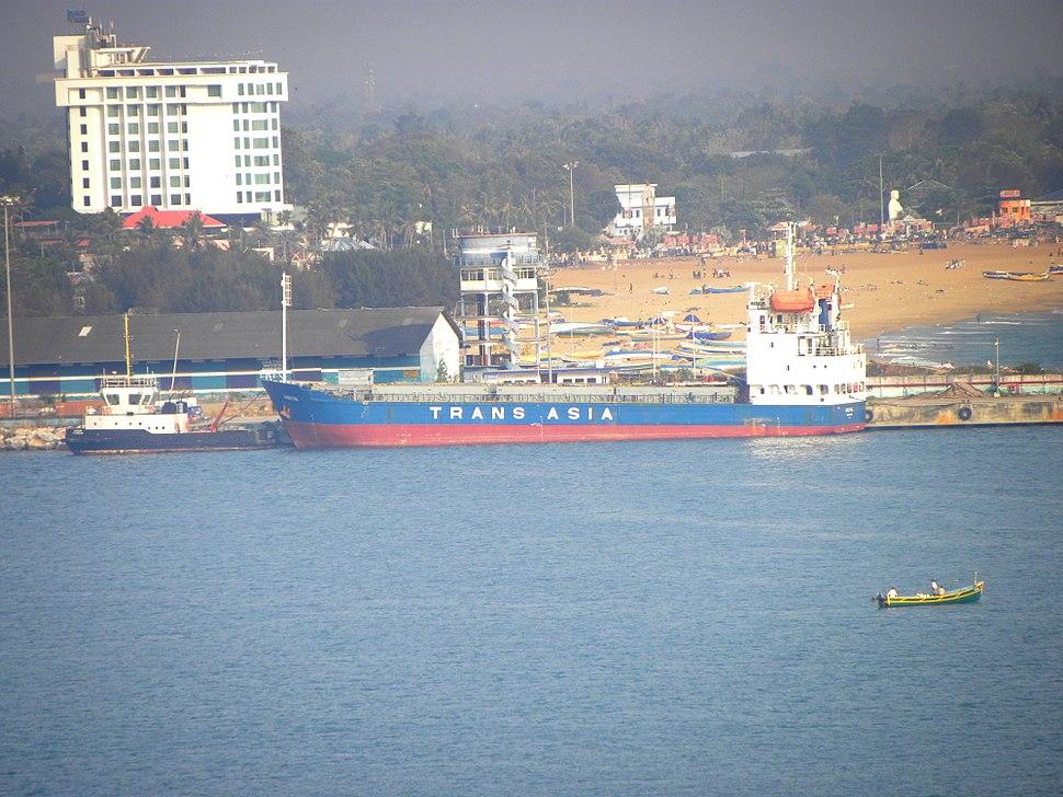 Port of Kollam, Mar 2016