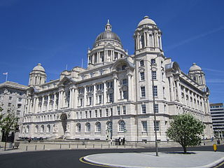 Port of Liverpool Building building located in Liverpool, England