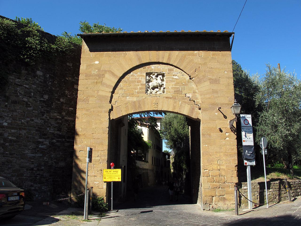 Porta San Giorgio, Oltrarno, Firenze