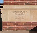 Portales, New Mexico, post office, cornerstone 1.JPG