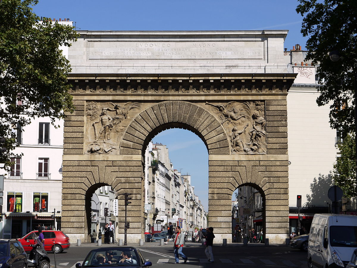 Porte saint martin wikip dia for Porte wikipedia