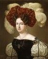Porträtt. Aurora Vilhelmina Koskull. Nordgren - Skoklosters slott - 39132.tif