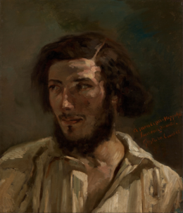 Portrait d'Hippolyte Pradelles by Courbet Mesdag collectie.png