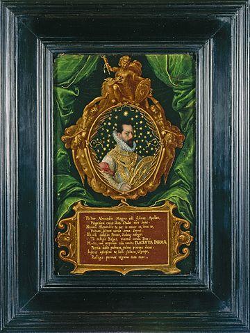 Отто Вениус. Портрет Алессандро Фарнезе, 1585, Художественный музей округа Лос-Анджелес