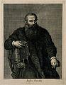 Portrait of Andreas Vesalius (1514 - 1564), Flemish anatomist Wellcome V0006034.jpg