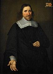 Portrait of Justinus van Moerkerken