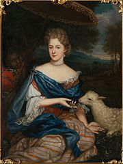Portrait of Maria Carolina de Bouillon