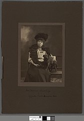 Mrs. William Crawshay of Cyfarthfa Castle & Caversham Park
