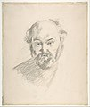 Portrait of the Artist (recto); Fragment of a Landscape Study (verso) MET DP805573.jpg