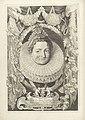 Portret van Isabella Clara Eugenia, infante van Spanje Ferdinandus IIus et IIIus Imperatorum Domus Austriacae (serietitel), RP-P-1918-1737.jpg