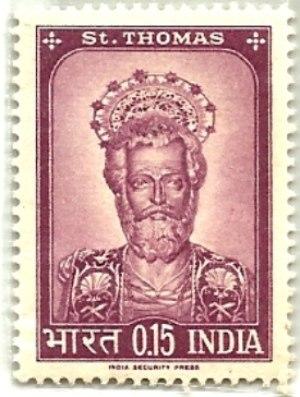 Postal stamp of St Thomas