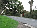 Postbox by country road - geograph.org.uk - 64845.jpg