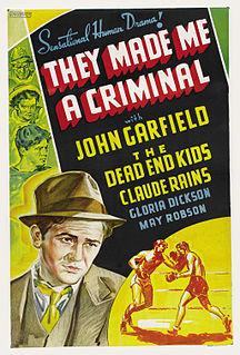<i>They Made Me a Criminal</i> 1939 film