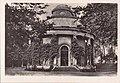 Potsdam - Sanssouci, Alemanha, Meados do Sec. XX, Castelo de Sanssouci, Musoleu da Imperatiz Augusta Vitória dos tempos antigos, Arquivo de Villa Maria.jpg