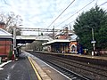 Poynton railway station, January 2021.jpg