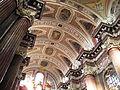 Poznan, stropní dekorace hlavní lodi.JPG