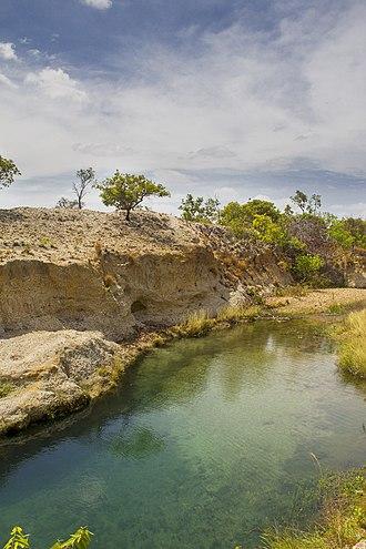 Aguaro-Guariquito National Park - Image: Pozo La Zorra Parque Nacional Aguaro Guariquito