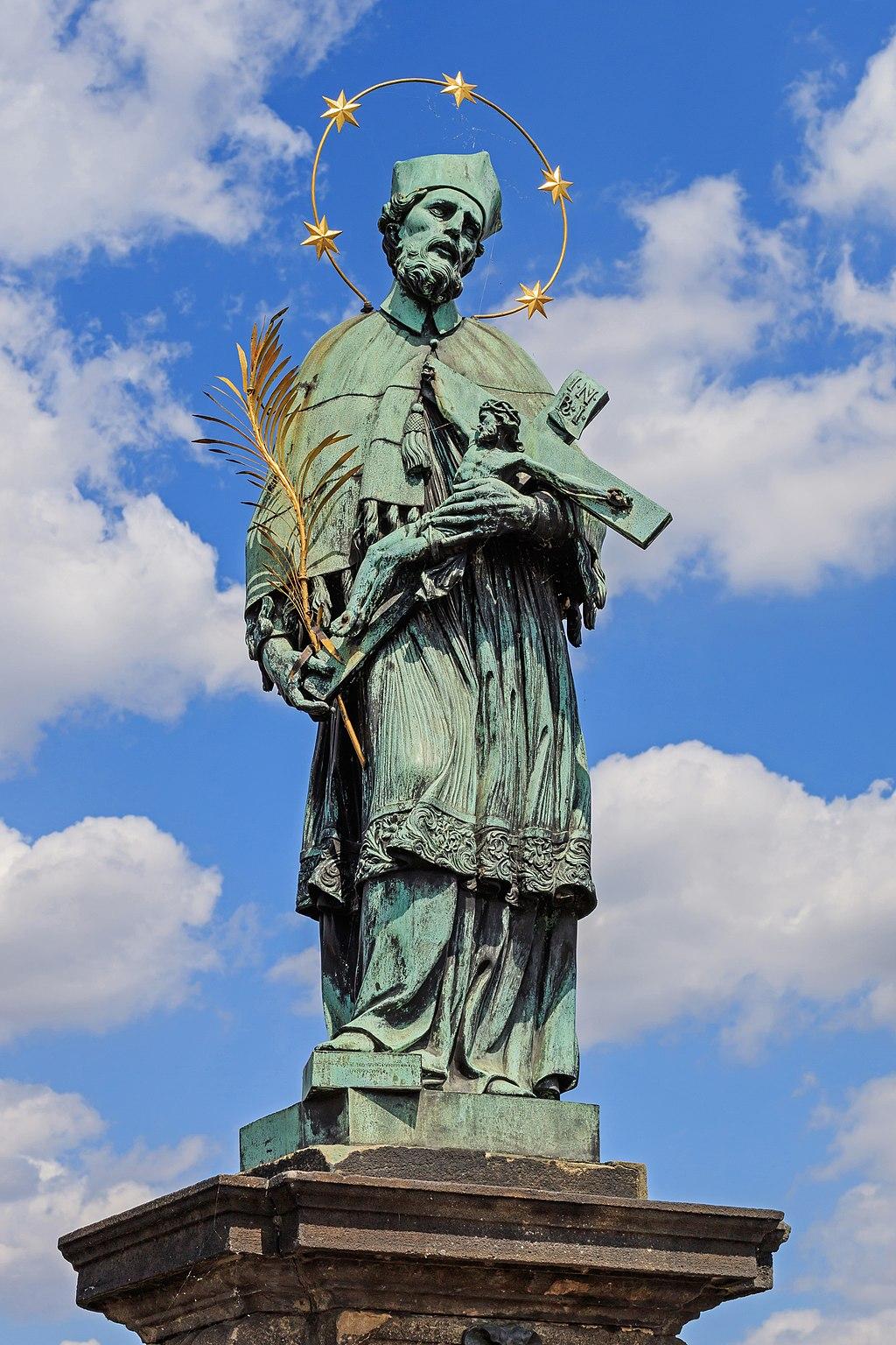 Prague 07-2016 Charles Bridge John of Nepomuk statue img1.jpg