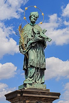 Prague 07-2016 Charles Bridge John of Nepomuk statue img1.jpg