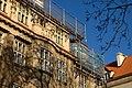 Praha, Staré město, 17 listopadu, rekonstrukce střechy II.jpg