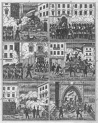 Revolutions of 1848 in the Habsburg areas