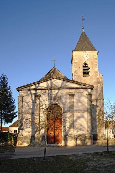 Église Saint-Paul de Précy-le-Sec
