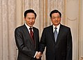President Lee hold summit with Chinese President Hu - 4341855613.jpg