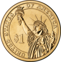 Presidential dollar coin reverse.png