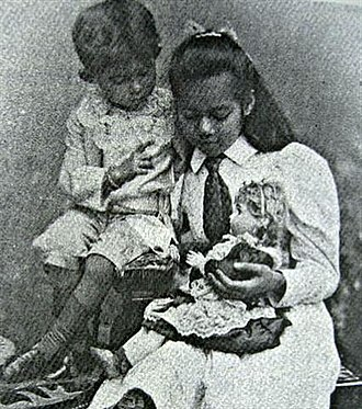 Mahidol Adulyadej - Younger Prince Mahidol Adulyadej and Princess Valaya Alongkorn