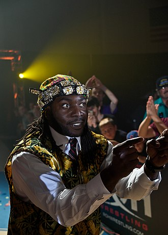 Prince Nana - Nana at a Ring of Honor show in 2011