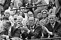 Prins Bernhard op tribune, naast hem mevrouw M.F.M. Rollin Couquerque, Bestanddeelnr 923-6456.jpg