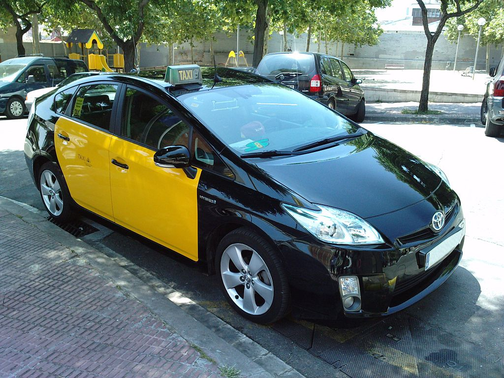 Prius Taxi Barcelona