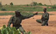 Pro-government militia in Mali training3