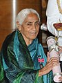 Prof. Ved Kumari Ghai, receiving Padma Shri in 2014 (cropped).jpg