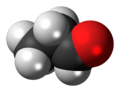 Propionaldehyde 3D spacefill.png