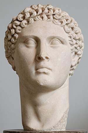 Ptolemy Apion - Portrait of a Ptolemaic ruler, maybe Ptolemy Apion, 1st century BC, from the temple of Apollo at Cyrene, British Museum