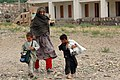Public Domain- Afghanistan- Carrying Humanitarian Supplies by Michael Bracken, US Army (DOD 070430-A-7096B-070).jpg