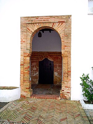 La Rábida Friary - The main doorway of La Rábida