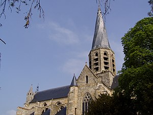 Puiseaux - The church in Puiseaux