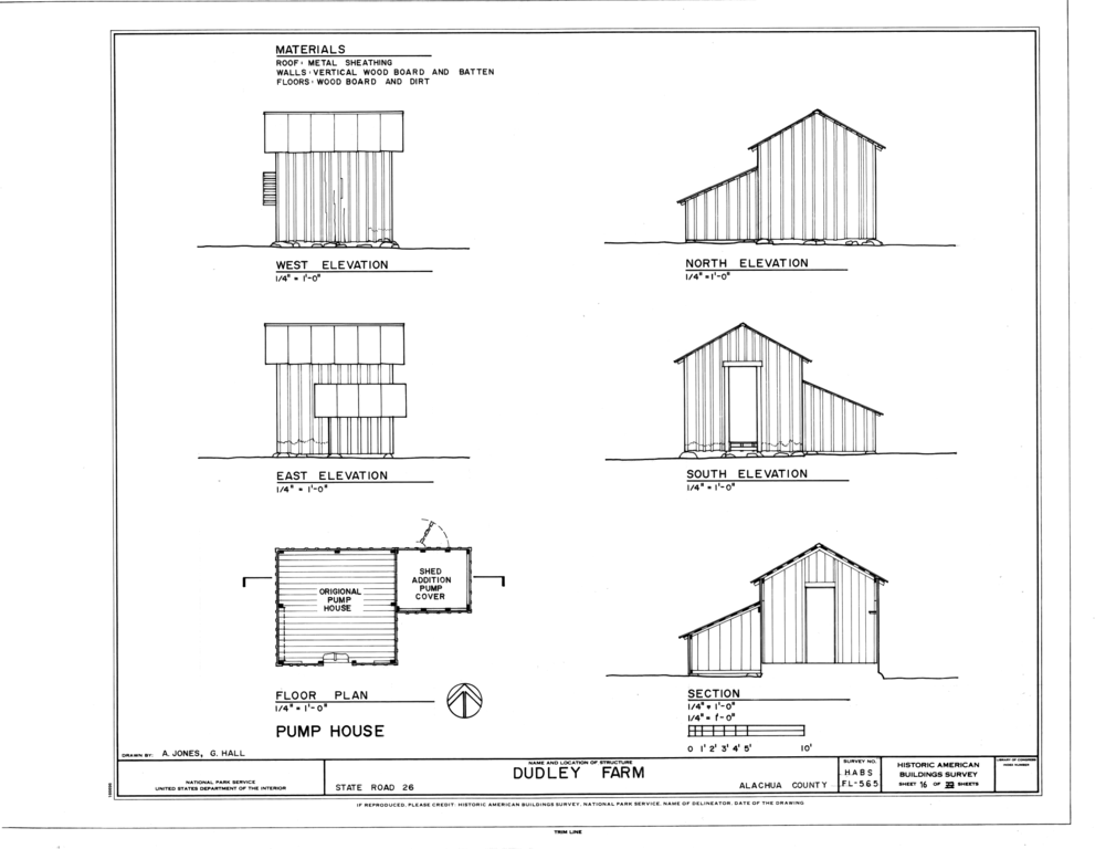 File Pump House Elevations Floor Plan And Section