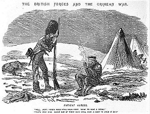 Crimea Medal - Image: Punch Magazine, Crimean War cartoon