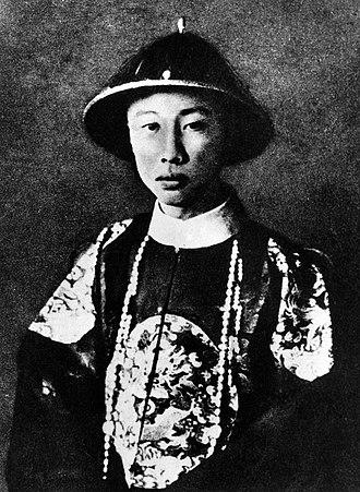 Puyi - Puyi in 1922